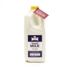Local Fat Free Milk Half Gallon