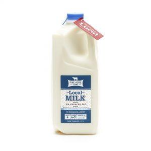 Local Reduced Fat Milk Half Gallon