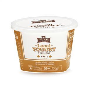Local Maple Whole Milk Yogurt 16oz