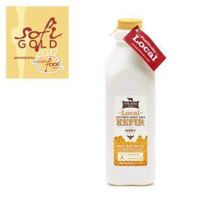 Honey Whole Milk Kefir Quart