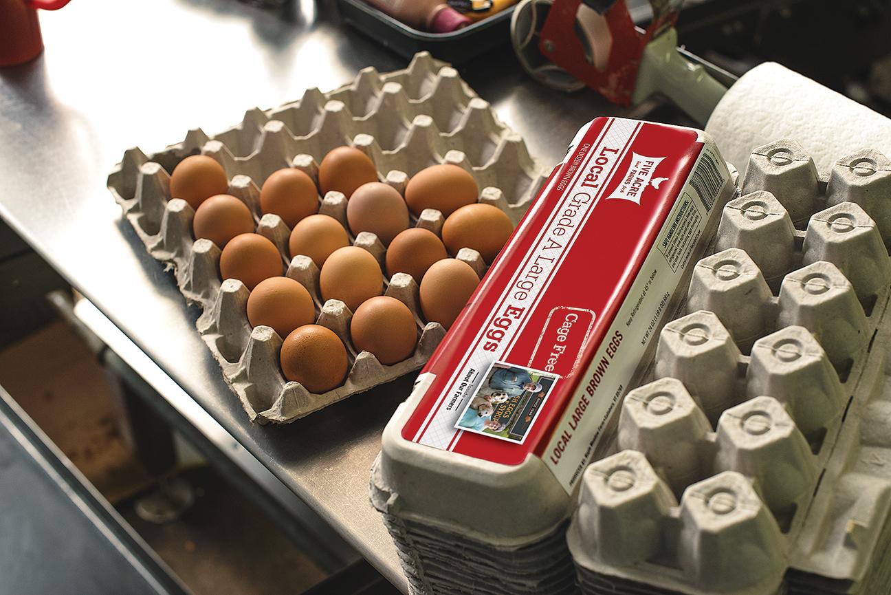 Local Eggs - Five Acre Farms