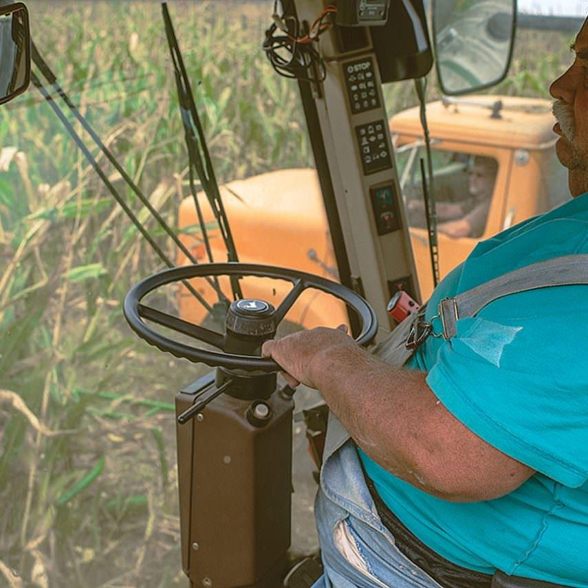 Harvesting Crops - Five Acre Farms