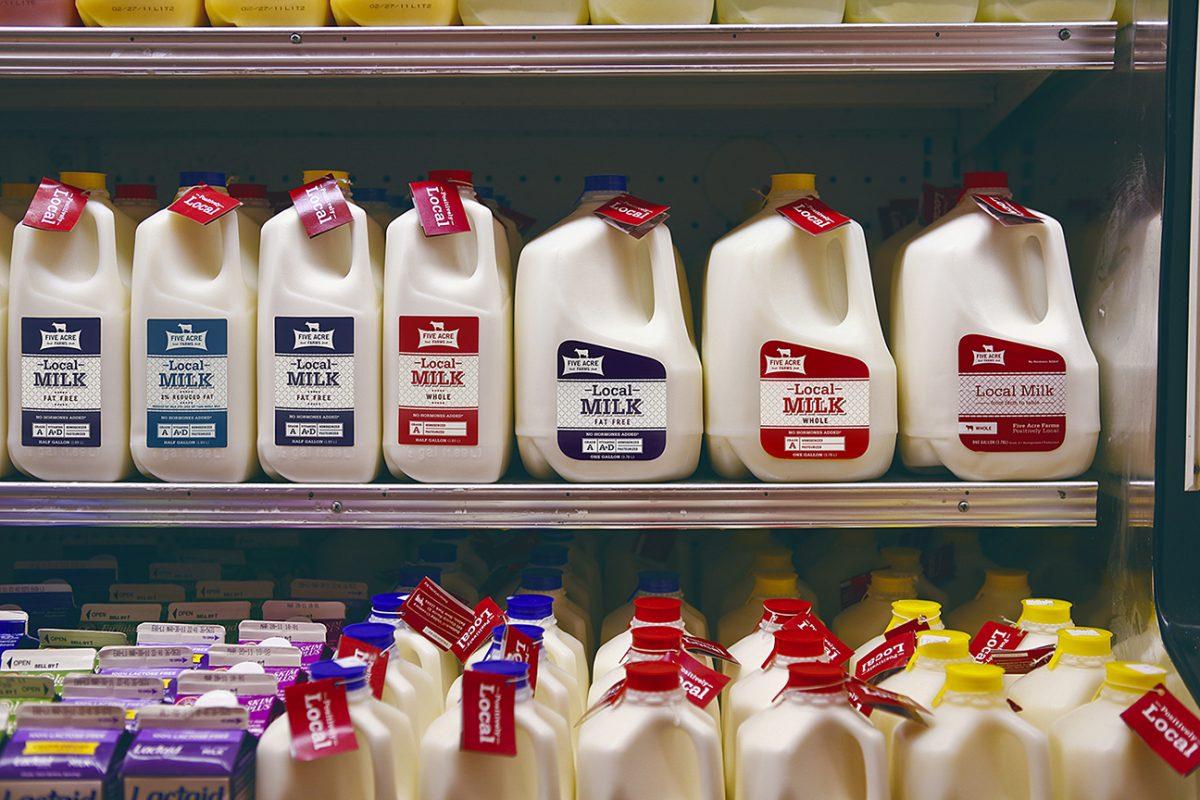 Local Milk on the Shelf - Five Acre Farms