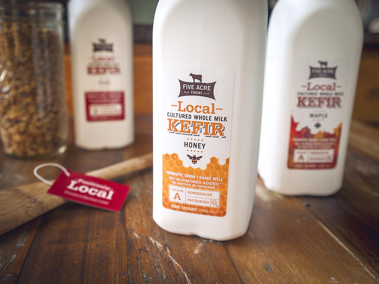 Local Kefir Five Acre Farms