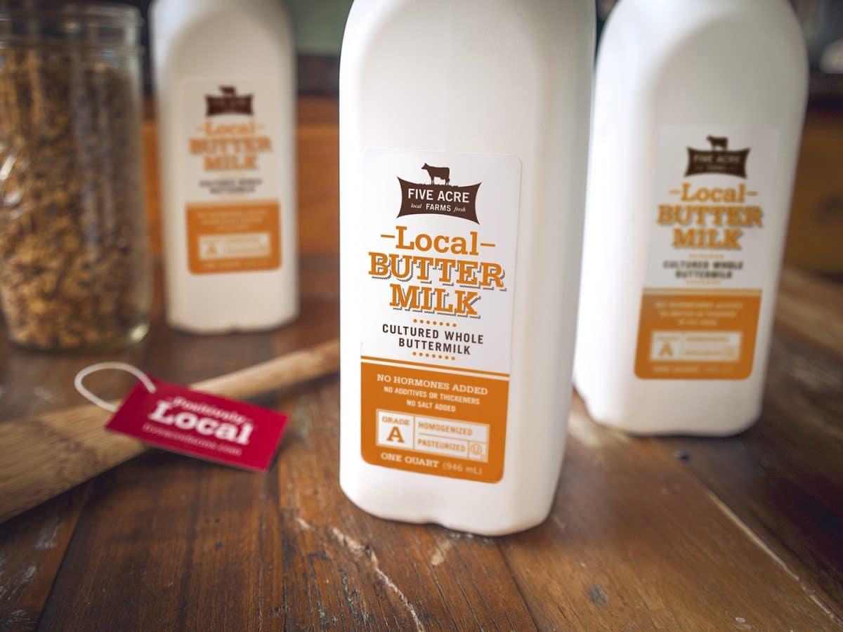 Local Buttermilk - Five Acre Farms