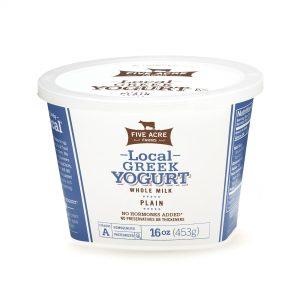 Local Plain Whole Milk Greek Yogurt