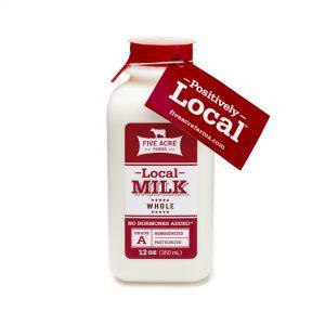 Local Whole Milk 12 Oz