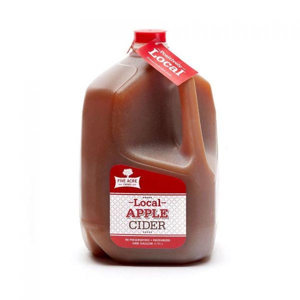 Local Apple Cider Gallon - Five Acre Farms