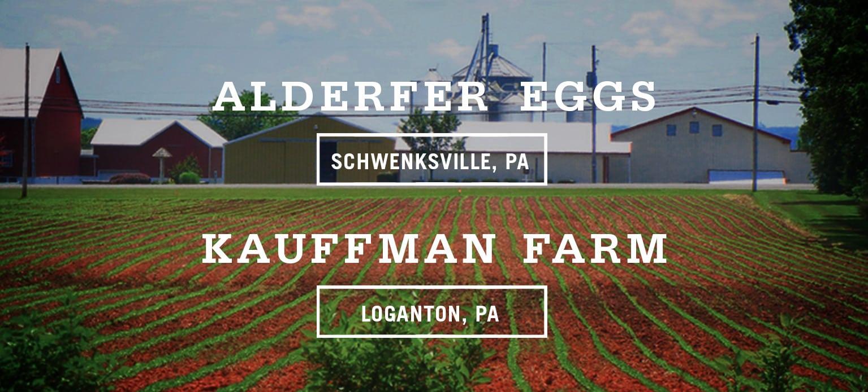 Alderfer Eggs & Kauffman Farm